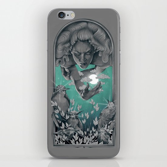 The Bird Keeper iPhone & iPod Skin