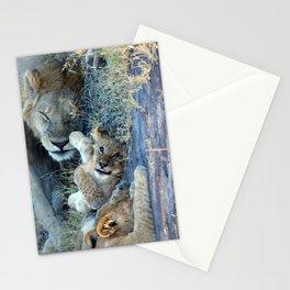 Playful Lion Cub Stationery Cards