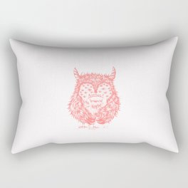 Thousand eyes looking at me Rectangular Pillow