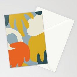 Modern Art Autumn MATP6 Stationery Cards