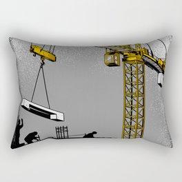 The Power of Tower Crane Rectangular Pillow
