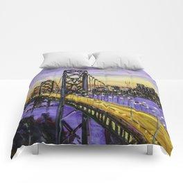 Indigo Night San Francisco Comforters