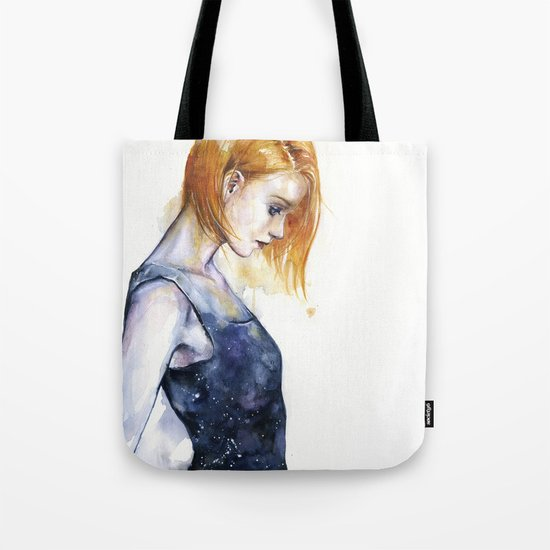 heliotropic girl Tote Bag
