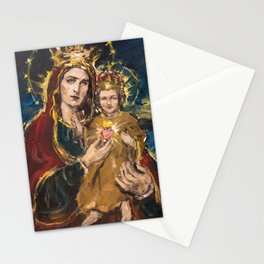 Our Lady of the Sacred Heart Stationery Cards