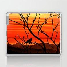 Blackbird's dusk Laptop & iPad Skin