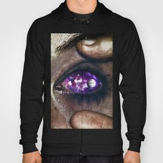 Ojos color galaxia Hoody