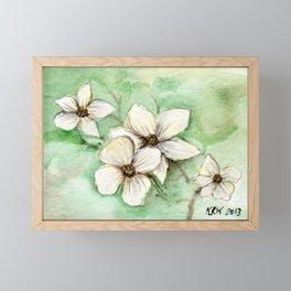 Dogwood Framed Mini Art Print