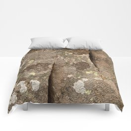 Megalith Stone Texture Comforters