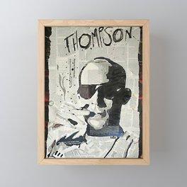 Dr. Hunter S. Thompson Framed Mini Art Print