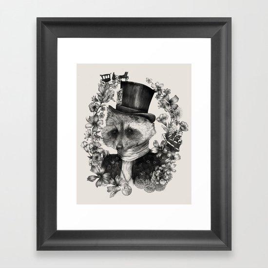 Frances Framed Art Print