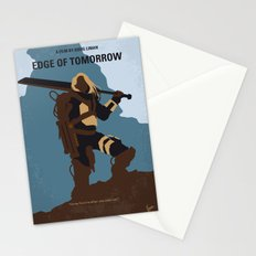 No790 My Edge of Tomorrow minimal movie poster Stationery Cards