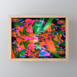 Worm Tumor Colony (Infected) Framed Mini Art Print