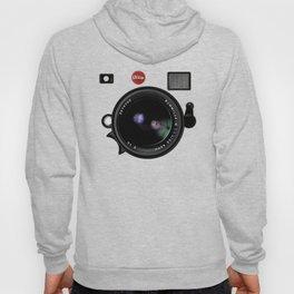 Vintage Black Camera Hoody