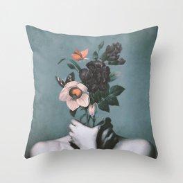 inner garden 3 Throw Pillow