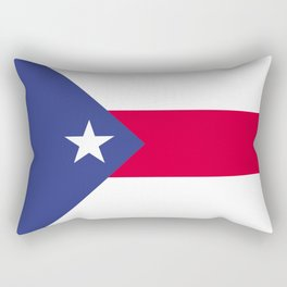 Puerto Rico flag emblem Rectangular Pillow