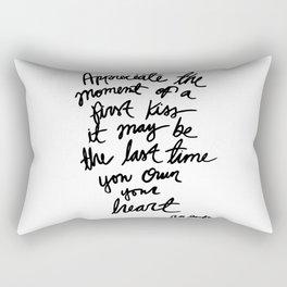 Quote, R. M. Drake Rectangular Pillow