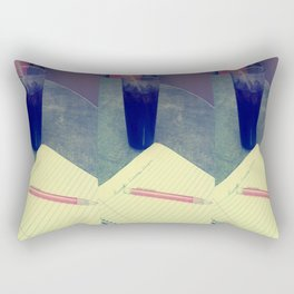 Coke and Poems- Colored Rectangular Pillow