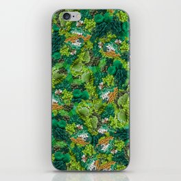 Moss Cluster iPhone Skin