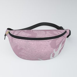 Pink Fabulous Horns Fanny Pack