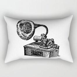 Gramophone Rectangular Pillow