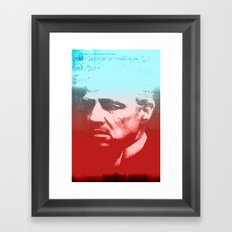 GODFATHER - Do I have your Loyalty? Framed Art Print