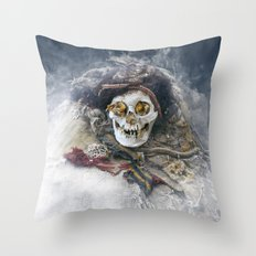 The Beauty of the Long-Dead Throw Pillow