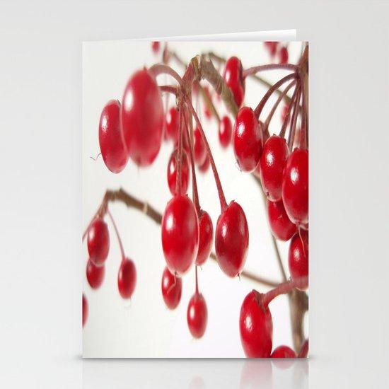 Ardisia Crenata Stationery Cards