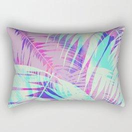 Maui Palm {Pink A} Rectangular Pillow