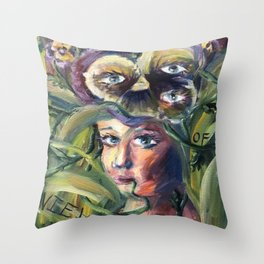 Point(s) of View(s) Throw Pillow