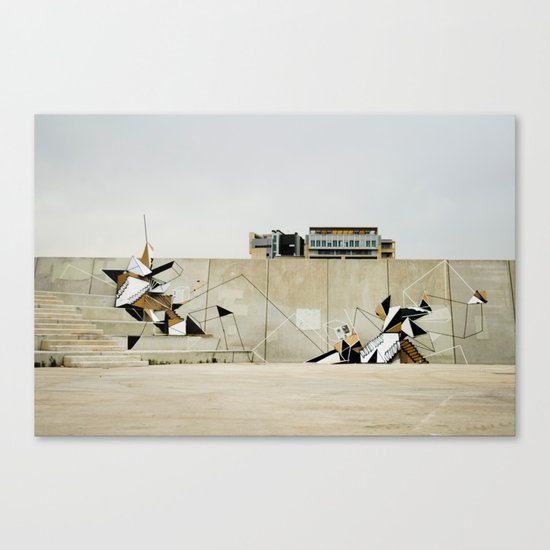 Diagonal Mar Canvas Print