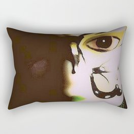Doll In Color Rectangular Pillow