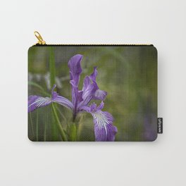 Free Ranging Wild Iris Carry-All Pouch