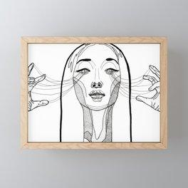The Weaver Framed Mini Art Print