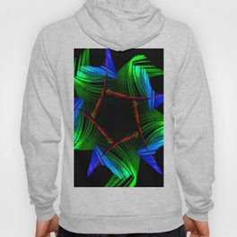 Flower Abstract Hoody