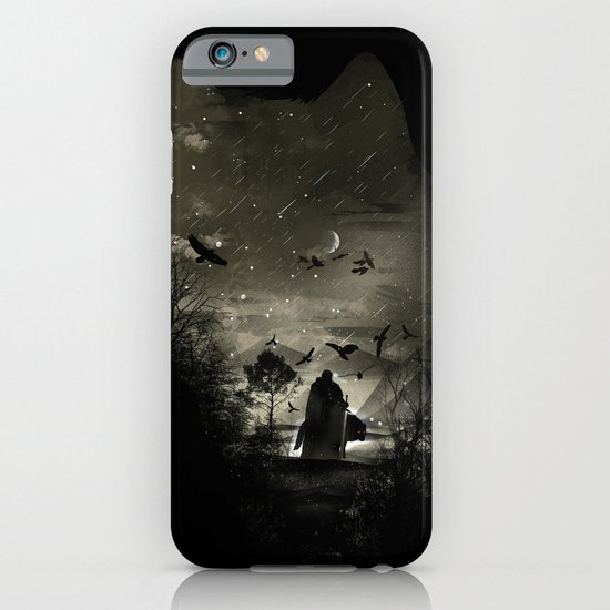 The Lord Crow iPhone & iPod Case