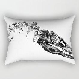 Jurassic Bloom - The Clever Girl Rectangular Pillow