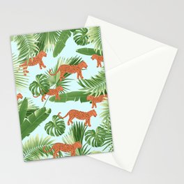 Leopard Jungle Dream Pattern #1 (Kids Collection) #decor #art #society6 Stationery Cards