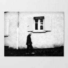 I follow you in the street, sometimes. 4 Canvas Print