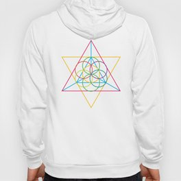 Multicolor Triangle Dance Hoody