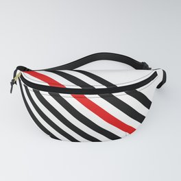80s stripes Fanny Pack