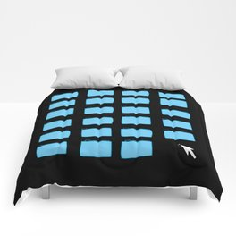 Desktop (Black) Comforters