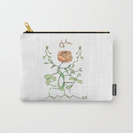 Scent of a Rose Chemistry Design Carry-All Pouch