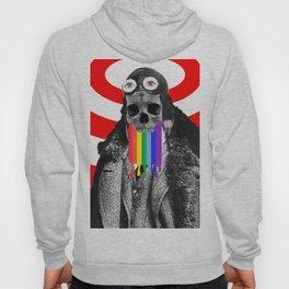 Rainbow Skull Pilot Hoody