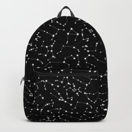 Zodiac Star Constellations Pattern Backpack