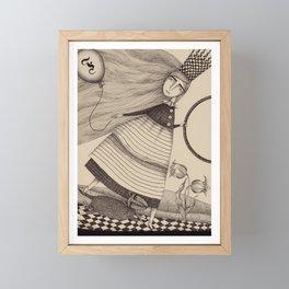 The Tulip Garden (2) Framed Mini Art Print