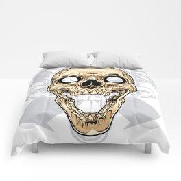 Skull 002 Comforters