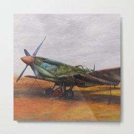 Vintage Plane II Metal Print