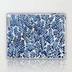 Indigo blues Laptop & iPad Skin