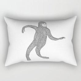 Bigfoot Doing The Wave Rectangular Pillow