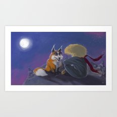 Little Prince Art Print